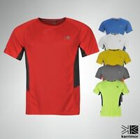 Mens Karrimor Breathable Running T Shirt Short Sleeves Top Sizes S-XXXL