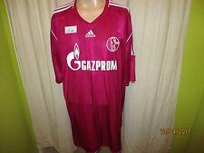 """FC Schalke 04 Adidas Ausweich DFB-Pokal Sieger Trikot 2011 """"GAZPROM"""" Gr.XXXL Neu"""