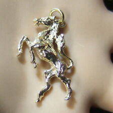 9 ct gold new horse charm or pendant