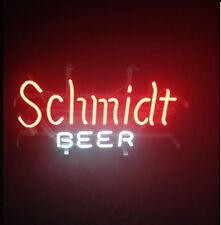 """New Schmidt Beer Neon Light Sign 17""""x14"""""""