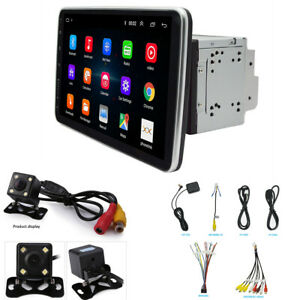 Android 9.1 10.1in 2Din Car GPS FM Stereo Radio WiFi BT MP5 Player With Camera