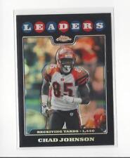 2008 Topps Chrome Refractor #TC129 Chad Johnson Bengals