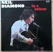 NEIL DIAMOND LP: I'M A BELIEVER (UK; JOYS 210)