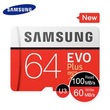 Carte Mémoire Micro SD Samsung Evo Plus 64 Go Class 10 UHS-1 U3