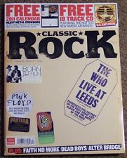 CLASSIC ROCK + CD Dec 2010 The WHO LIVE At LEEDS Pink Floyd SPRINGSTEEN Pantera