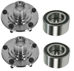 2 Front Wheel Hub Bearing Kits Fit Ford C-Max Focus Free Shipping With Warranty