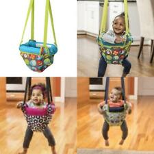 Swing Jump Up Doorway Entertainment Jumper Kids Adjustable Straps Frame Clamps