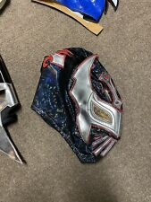Sin Cara Negro Lucha Libre Mask Mexican Wrestling Adult Luchador Costume Mask