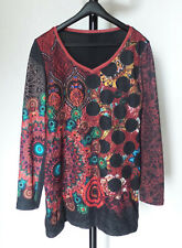 101 IDEES_Très belle robe multicolore_T.L/XL_BE