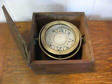 Antique Ship's Gimbal/ Compass