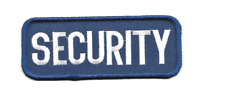 Security Officer Guard Patch Iron On or Sew On