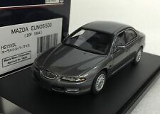 1/43 HI STORY HS155SL MAZDA EUNOS 500 20F (1994) SILVER GREY resin model car