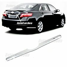 Accessory Chrome Rear Trunk Molding Trim For 2007-2011 Toyota Camry Sedan