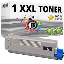 1x XXL Toner Patronen Schwarz kompatibel für Oki C610 C610N C610DN C610DTN