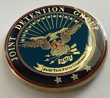 Joint Detention Group Task Force Guantanamo GTMO Cmdr OEF Challenge Coin  *RARE