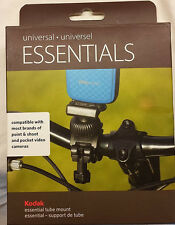 New Universal Essentials Tube Camera Mount video mount Kodak camera bike mo