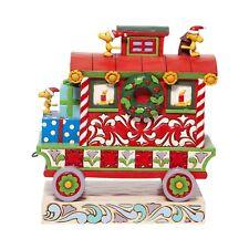 Jim Shore Peanuts Woodstock's Caboose Christmas Train 6006940