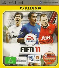 PLAYSTATION 3 FIFA 11 PS3 PLATINUM GAME