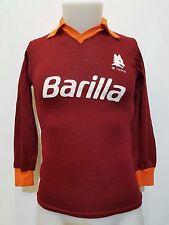 MAGLIA CALCIO SHIRT ROMA BARILLA VINTAGE TG.2 N.8 FOOTBALL ITALY SOCCER IT252