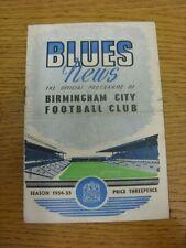09/04/1955 Birmingham City v Plymouth Argyle (plegado, Rusty Grapa). gracias por