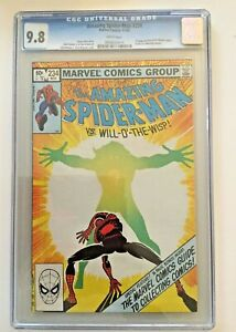 Amazing Spider-Man #234 CGC 9.8 1982 SPECTACULAR White Pages