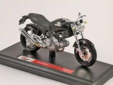 DUCATI MONSTER DARK 1/18 scale motorbike model by MAISTO