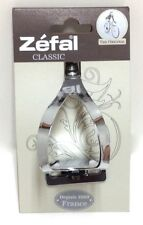 ZEFAL CLASSIC  BICYCLE STEEL TOE CLIPS SET LARGE XLARGE NEW
