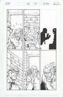 DV8 #23 page 20, Original Comic Art by Al Rio, Wildstorm Comics, 1998, Frostbite