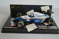 Minichamps Modellauto 1:43 Williams FW 16 Renault N.Mansell GP France Formel 1