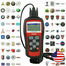 KW808 OBDII OBD2 EOBD Car Engine Fault Code Reader Auto Diagnostic Scanner Kit