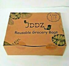 Reusable Mesh Bags Pack of 8 S M L Grocery Produce Organic Cotton Lemon Lime