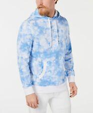 $104 Club Room Mens Blue Long-Sleeve Sweater Drawstring Sweatshirt Hoodie Size S