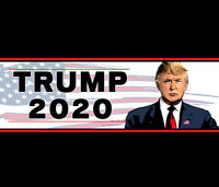 Bumper Sticker • President Donald Trump • 2020