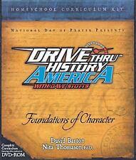 Drive Thru History America: Foundations of Character Kit-DVD, Teacher+ Student