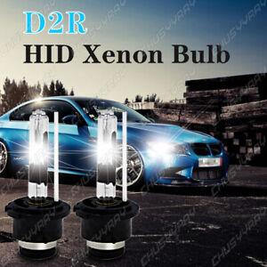 2X D2R HID Xenon 85126 Bombillas de repuesto Lámpara de faro 35W 6000K Blanco