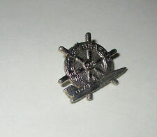 Seattle Seafair 25th Anniversary U-74 Vintage 1974 SKIPPER PIN Hydroplane Racing