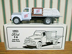 Farm Systems HiSoy Soybeans 1951 Ford F-6 Stake Truck By First Gear 1/34th Scale