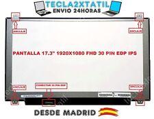 """PANTALLA PARA Lenovo Y70-70 80du00b2us 17,3"""" FHD 1920X1080 LED LCD IPS 30 PIN"""