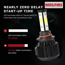 9AC9 9005 LED Fog Light Safety DC12V LED Headlight 50W Lighting Assembly 8000LM