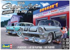 Revell Monogram 4504 1956 Chevrolet Del Ray 2 'n 1 Plastic Model Kit 1/25