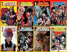 My Hero Academia Series English Manga Collection Set 1-8 Paperback Brand New