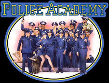 80's Comedy Classic Police Academy Poster Art custom tee Any Size Any Color