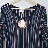 [ LEONA EDMISTON ] Womens Long sleeves Knit Dress NEW | Size L or AU 14 / US 10