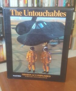 SIGNED 1st Ed The Untouchables Mission Accomplished Brian Shul Sled Driver Authr