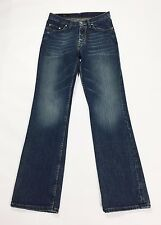 Pendium jeans w30 tg 44 uomo relaxed fit gamba larga dritti denim usati T2039