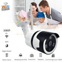 Wireless WIFI Security Camera HD720P/1080P Waterproof  Bullet IR Night Vision