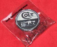 Colt Firearms Factory Poker Chip 2012 Military Law Enforcement Show
