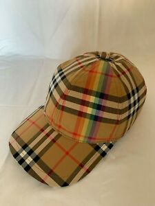 Burberry LGBT Rainbow Cap, Size M/L, Never Worn