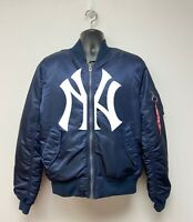 ALPHA INDUSTRIES x NY YANKEES MA-1 BOMBER JACKET off white supreme vlone starter