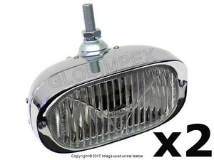 Porsche 911 912 (1956-1968) Fog Light H3 (with Clear Lens) Front Left and Right
